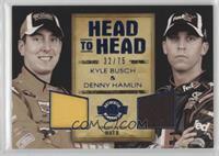Kyle Busch, Denny Hamlin #/75