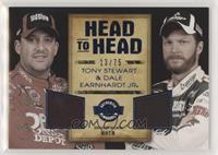 Tony Stewart, Dale Earnhardt Jr. #/75