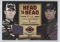Carl Edwards, Matt Kenseth #/25