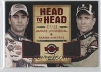 Jimmie Johnson, Mark Martin /25