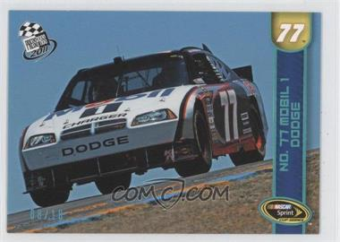 2011 Press Pass - [Base] - Platinum Blue #70 - Sam Hornish Jr. /10