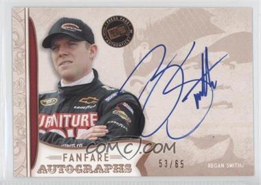 2011 Press Pass Fanfare - Fanfare Autographs - Bronze #FA-RS1 - Regan Smith /65