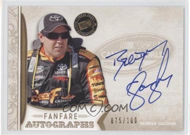 2011 Press Pass Fanfare - Fanfare Autographs - Gold #FA-BG - Brendan Gaughan