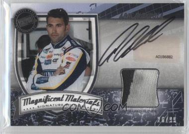 2011 Press Pass Fanfare - Magnificent Materials - Signature Edition [Autographed] #MMSE-AA - Aric Almirola /99