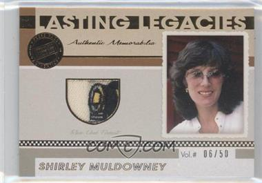 2011 Press Pass Legends - Lasting Legacies Memorabilia - Gold #LL-SM - Shirley Muldowney /50