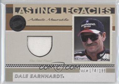 2011 Press Pass Legends - Lasting Legacies Memorabilia #LL-DE1 - Dale Earnhardt /199