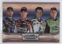Jimmie Johnson, Jeff Gordon, Dale Earnhardt Jr., Mark Martin /499