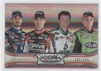 Jimmie Johnson, Jeff Gordon, Dale Earnhardt Jr., Mark Martin /499