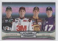 Carl Edwards, Greg Biffle, David Ragan, Matt Kenseth /499