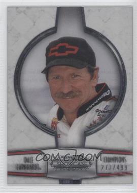 2011 Press Pass Showcase - Champions - Silver #CH 11 - Dale Earnhardt /499