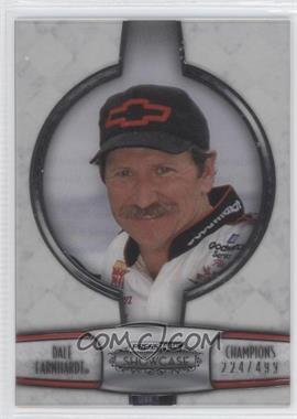 2011 Press Pass Showcase - Champions - Silver #CH 11 - Dale Earnhardt /499