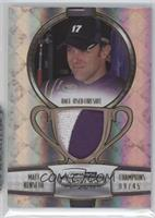 Matt Kenseth /45