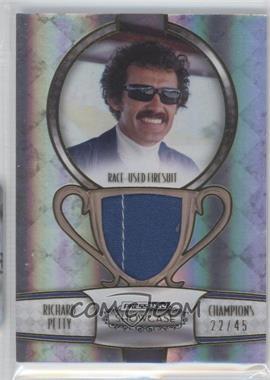 2011 Press Pass Showcase - Champions Memorabilia - Gold #CHM-RP - Richard Petty /45