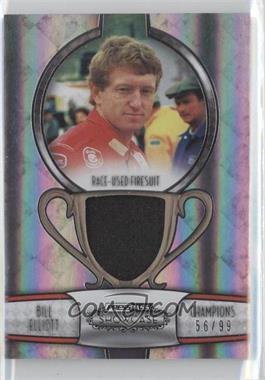 2011 Press Pass Showcase - Champions Memorabilia - Silver #CHM-BE - Bill Elliott /99