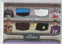 Greg Biffle, Carl Edwards, David Ragan, Matt Kenseth /99