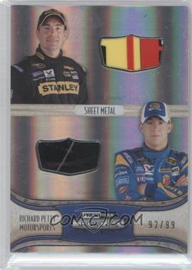 2011 Press Pass Showcase - Classic Collections Teammate Memorabilia - Silver #CCM-RPM - Marcos Ambrose, AJ Allmendinger /99
