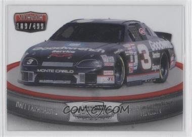 2011 Press Pass Showcase - Showroom - Silver #SR 10 - No. 3 GM Goodwrench Chevrolet (Dale Earnhardt) /499