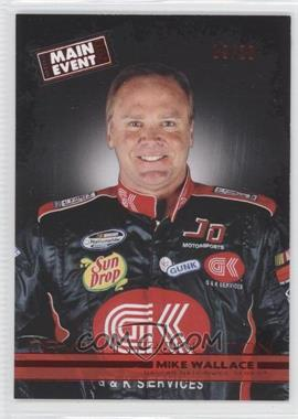 2011 Wheels Main Event - [Base] - Red #46 - Mike Wallace /20