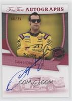 Sam Hornish Jr. /75