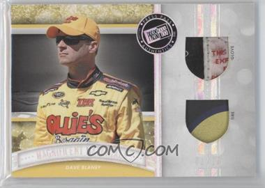 2012 Press Pass Fanfare - Magnificent Materials - Dual Melting Foil #MM-DB - Dave Blaney /10