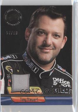 2012 Press Pass Ignite - Materials - Gun Metal #IM-TS1 - Tony Stewart /99
