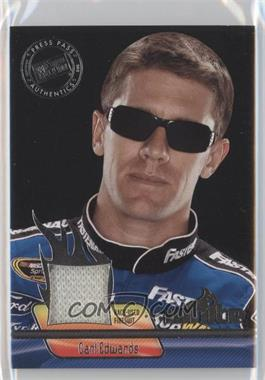 2012 Press Pass Ignite - Materials - Silver #IM-CE - Carl Edwards