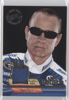 2012 Press Pass Ignite - Materials - Silver #IM-MM - Mark Martin