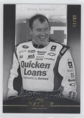 2012 Press Pass Redline - [Base] - Color Proof Black & White #31 - Ryan Newman /99