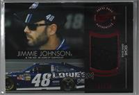 Jimmie Johnson [Noted] #/75