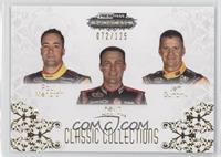 Paul Menard, Kevin Harvick, Jeff Burton #/125