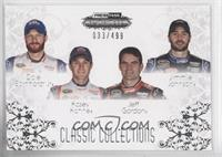 Dale Earnhardt Jr., Kasey Kahne, Jeff Gordon, Jimmie Johnson #/499
