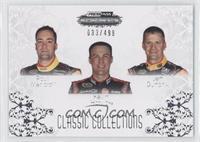 Paul Menard, Kevin Harvick, Jeff Burton #/499