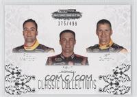 Kyle Busch, Joey Logano, Denny Hamlin /499
