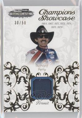 2012 Press Pass Showcase - Champions Showcase - Memorabilia [Memorabilia] #CH-RP - Richard Petty /50