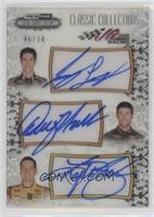 Joey Logano, Denny Hamlin, Kyle Busch /10