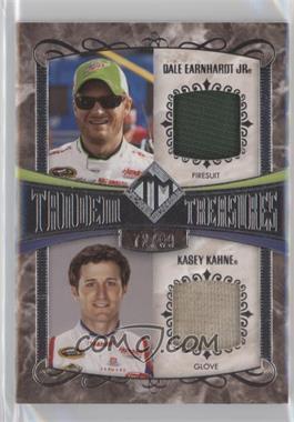2012 Press Pass Total Memorabilia - Tandem Treasures #TT-DEKK - Dale Earnhardt Jr., Kasey Kahne /99