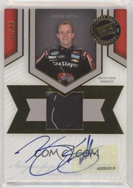 2013 Press Pass Fanfare - Magnificent Materials Single Swatch Signature Edition - Gold #MMSE-RS2 - Regan Smith /99