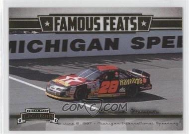 2013 Press Pass Legends - Famous Feats #FF 7 - Ernie Irvan