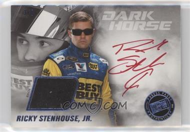 2013 Press Pass Redline - Dark Horse Autograph Memorabilia #DH-RS - Ricky Stenhouse Jr. /15