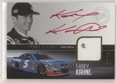2013 Press Pass Redline - Relic Autographs - Gold #RRSE-KK - Kasey Kahne /25 [Noted]