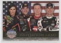 Brothers In Arms - Danica Patrick, Tony Stewart, Kurt Busch, Kevin Harvick