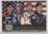 Brothers In Arms - Jeff Gordon, Jimmie Johnson, Dale Earnhardt Jr., Kasey Kahne