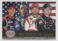Brothers In Arms - Jeff Gordon, Jimmie Johnson, Dale Earnhardt Jr., Kasey Kahne