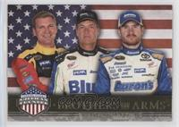 Brothers In Arms - Clint Bowyer, Michael Waltrip, Brian Vickers