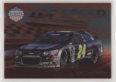 2014 Press Pass American Thunder - Top Speed #TS-8 - Jeff Gordon