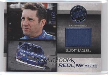 2014 Press Pass Redline - Relics - Blue #RR-ES - Elliot Sadler /25