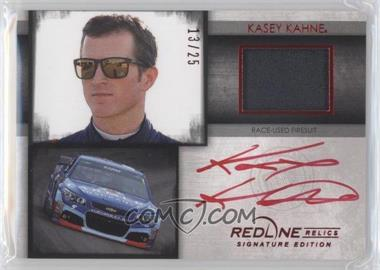 2014 Press Pass Redline - Relics Signature Edition - Red #RRSE-KK - Kasey Kahne /25