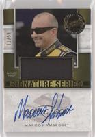 Marcos Ambrose [Noted] #/50