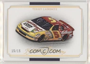 2016 Panini National Treasures - [Base] - Century Gold #35 - Cars - Terry Labonte /15