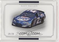 Cars - Rusty Wallace #/20